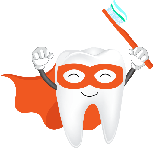 Specialist Kids Dentist teeth logo